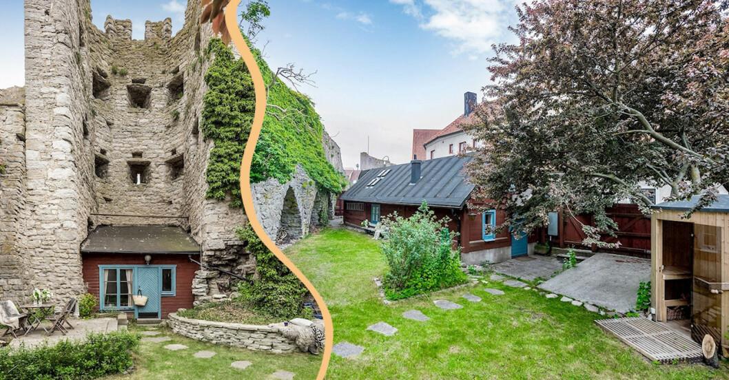 Minihus i ringmuren