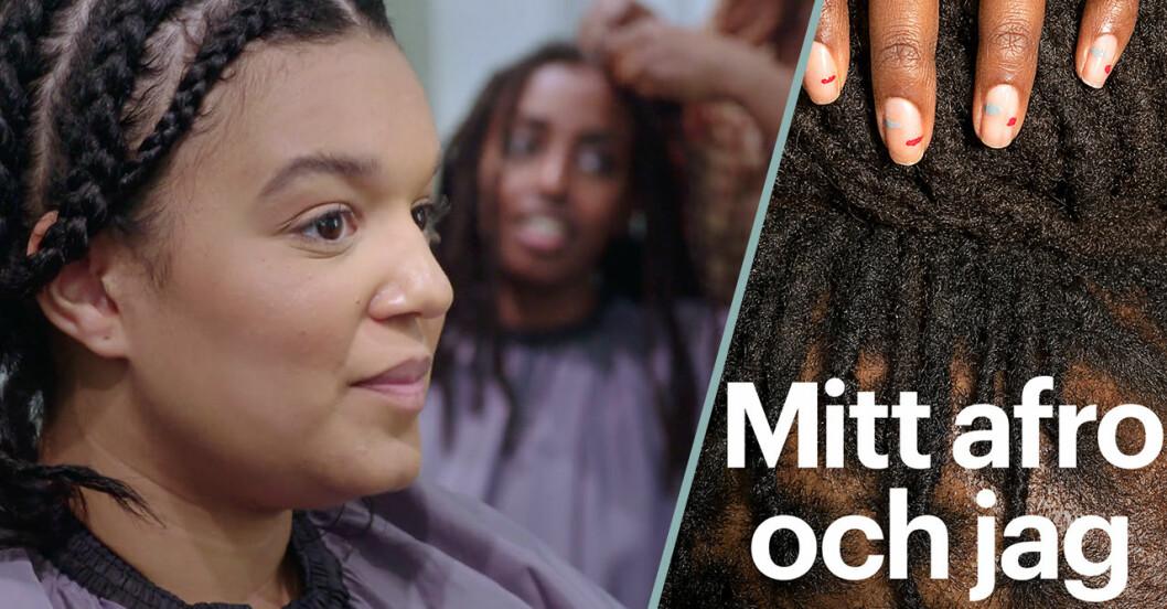 Allt om SVT Edits nya dokumentär Mitt afro och jag