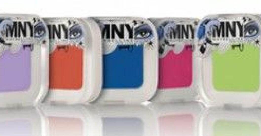 Färgglada ögonskuggor från MNY.