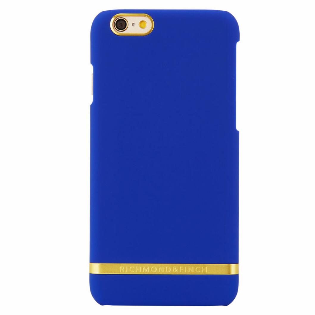 Blått mobilskal