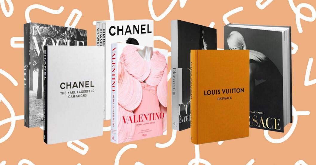 Modeböcker och coffetable-böcker att köpa hem