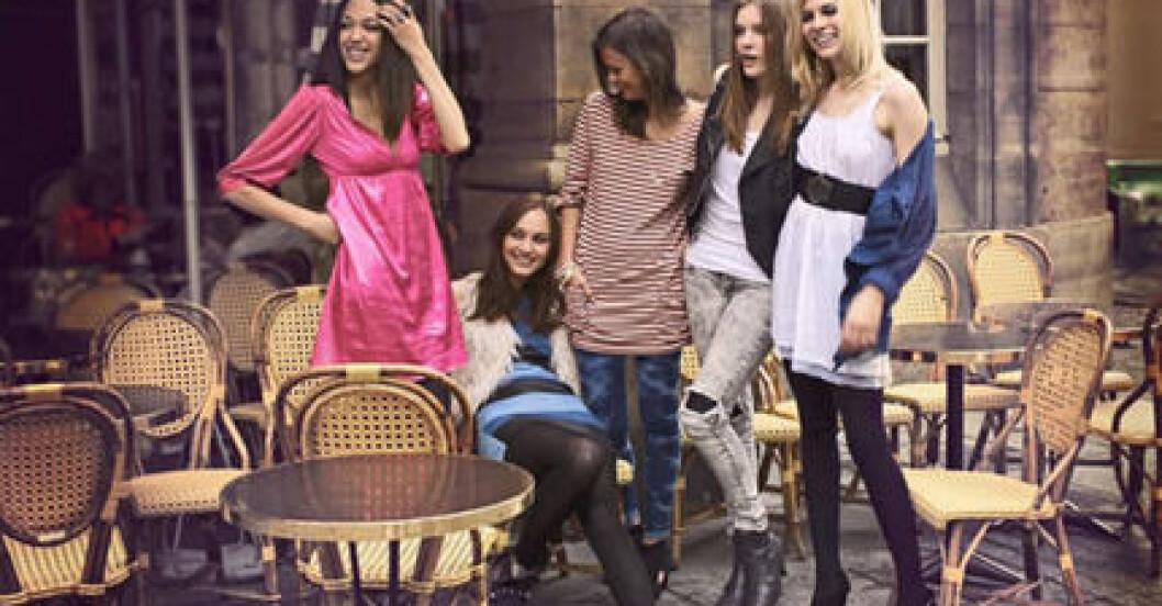 Modeller bloggar för Bik Bok
