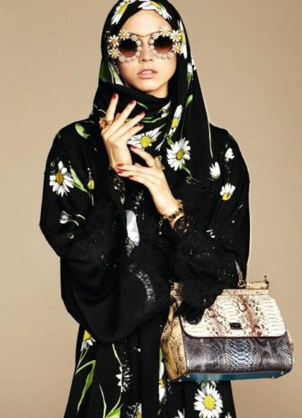 modell med hijab