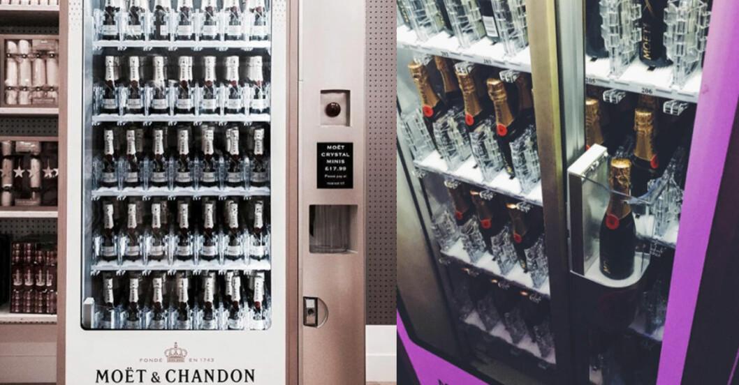 moet chandon automat