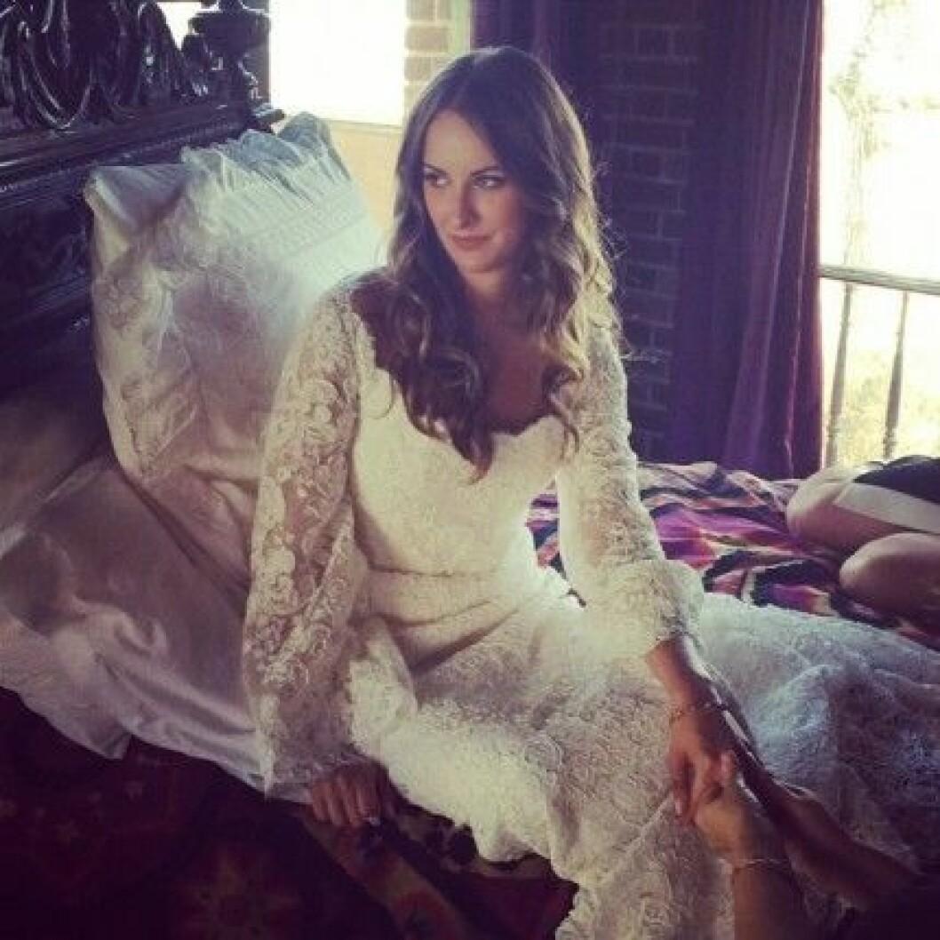 Molly Fishkin fotad av vännen jennapcaine på Instagram.