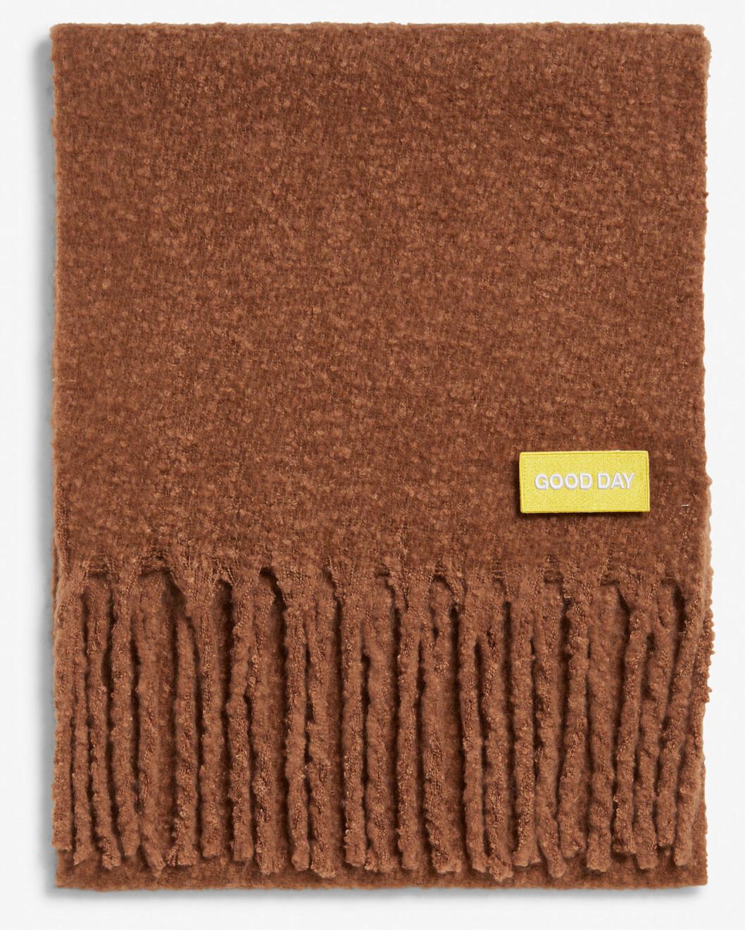 Brun halsduk från Monki