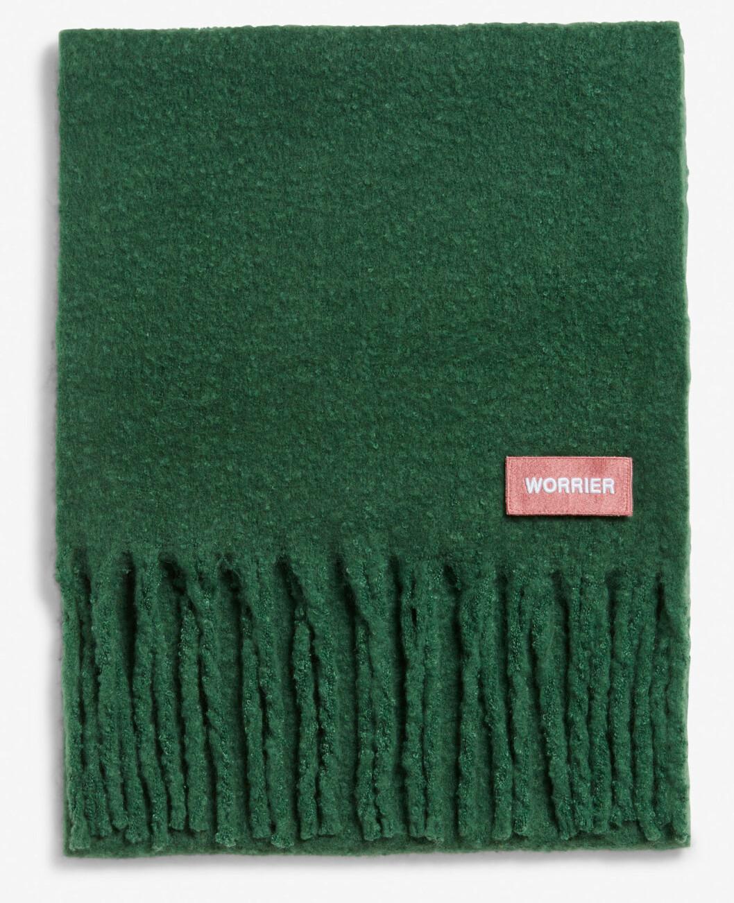 Grön halsduk från Monki