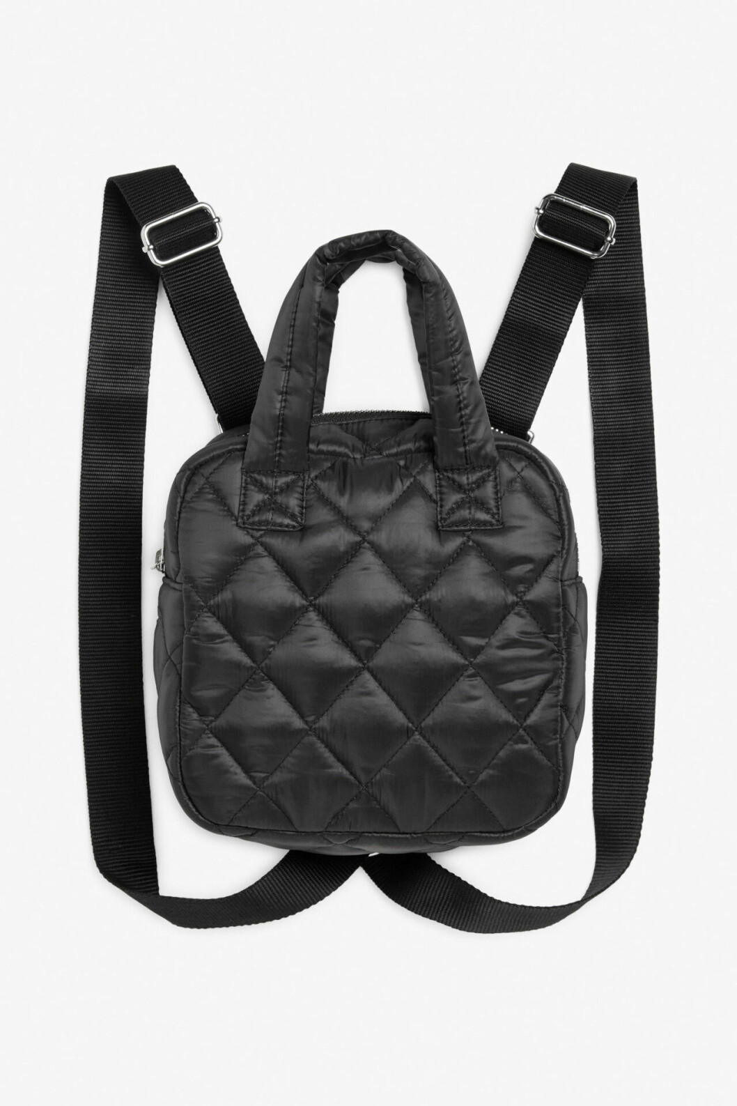 Svart ryggsäck från Monki