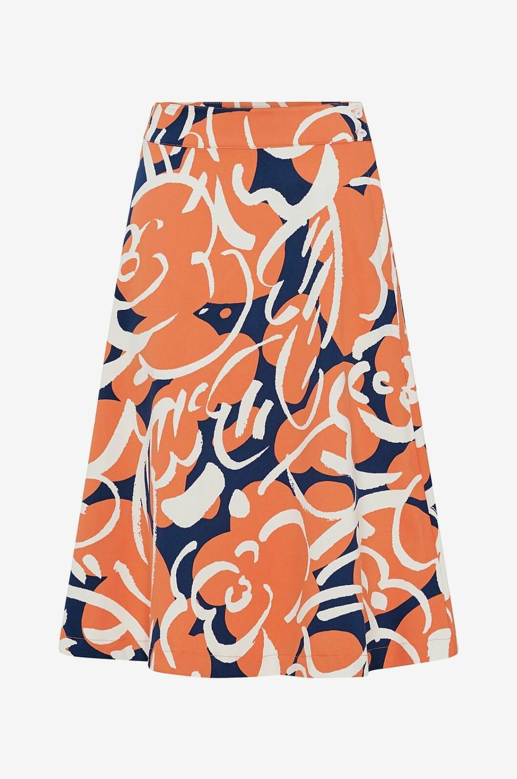 Mönstrad kjol för dam till 2019