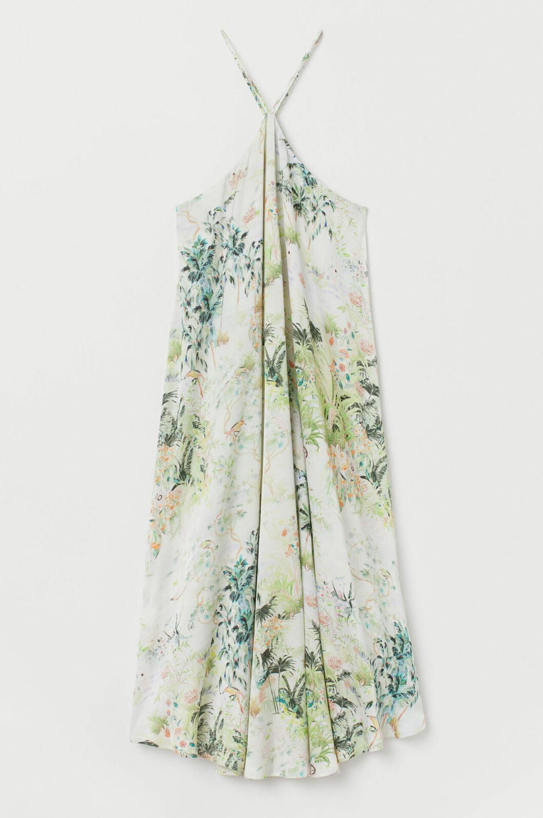 Mönstrad klänning till bröllop från H&M