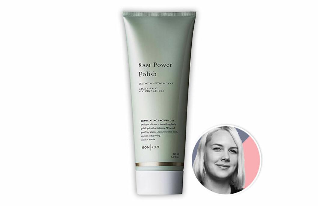 MONSUN 8AM Power-Polish Detox & Antioxidant Exfoliating Shower Gel