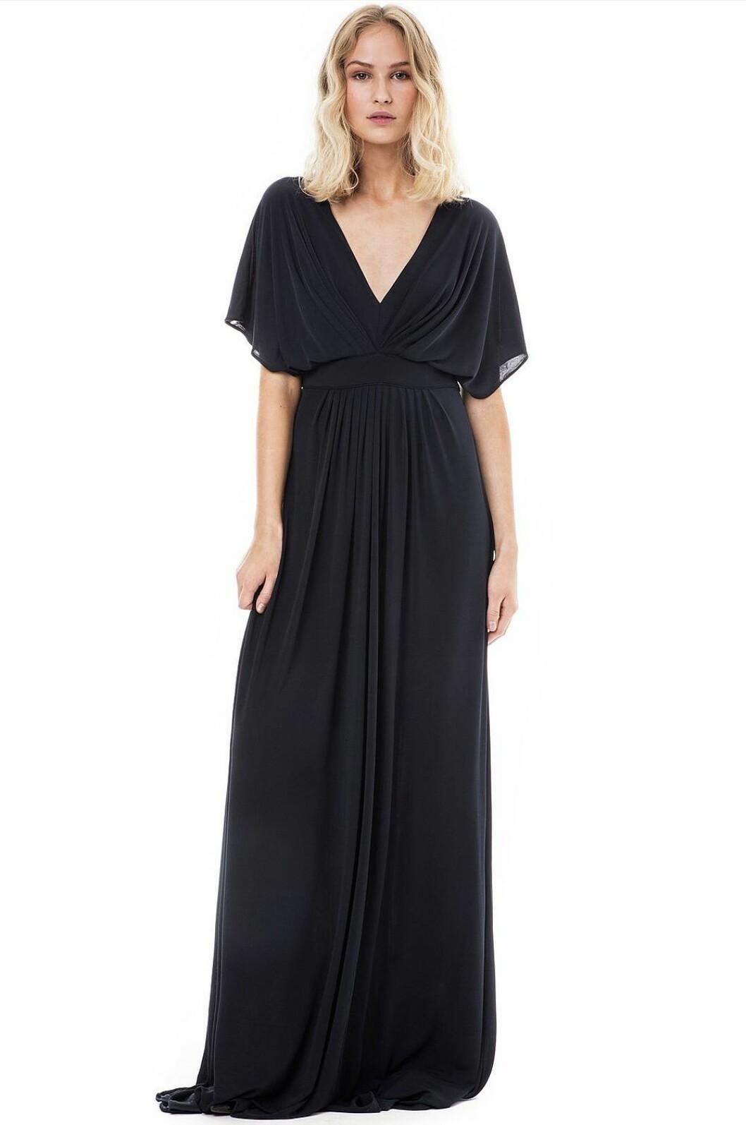 Mörkblå balklänning till 2019