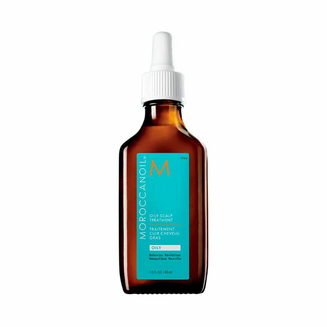 Olja för fett hår från Morrocon oil