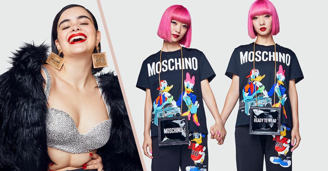 Moschino tv H&M kollektion