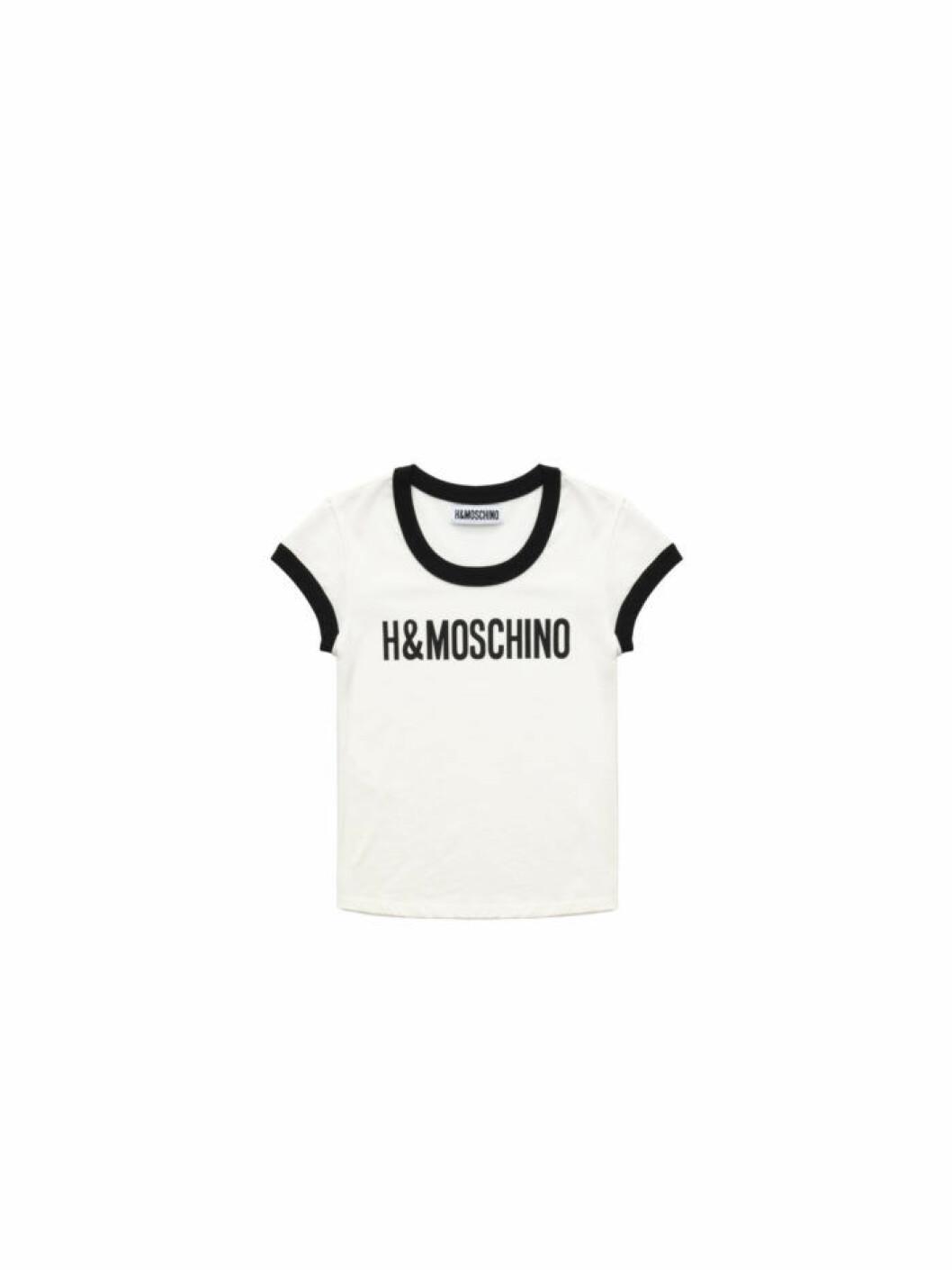 T-shirt med logo Moschino [tv] H&M