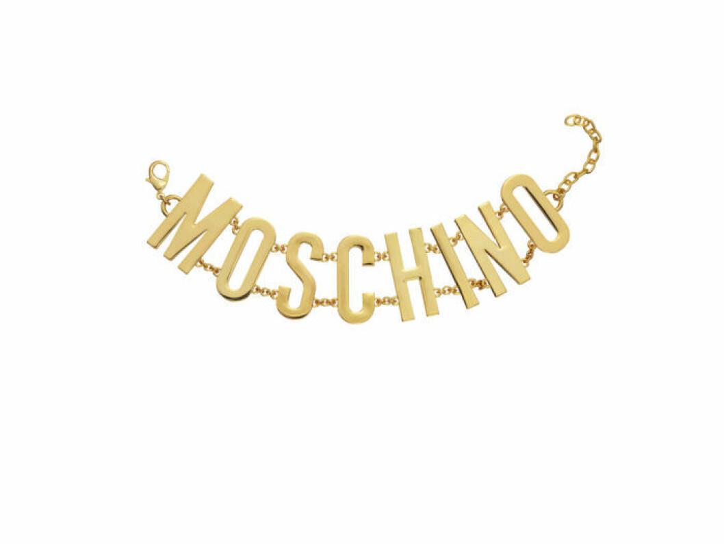 Guldigt Moschino-armband Moschino [tv] H&M