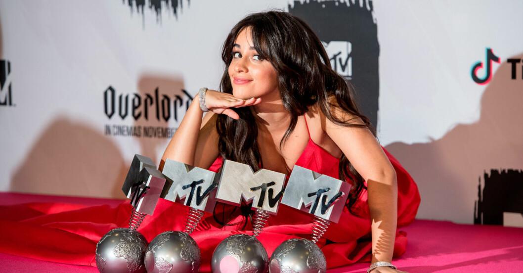 Camila Cabello vann stort på MTV Music Awards