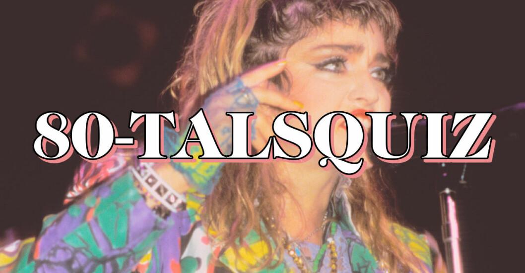 80-talsquiz, musikquiz om 80-talet