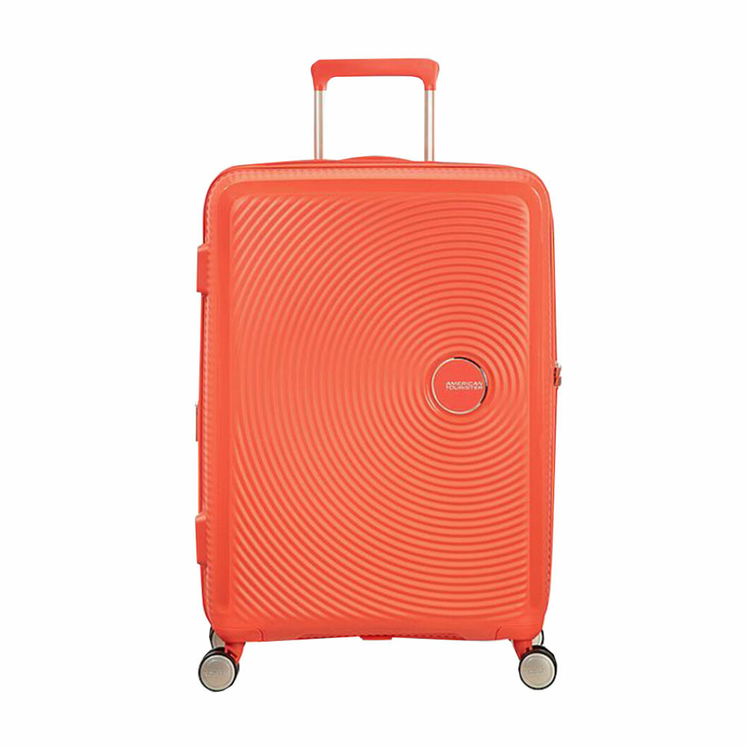 orange resväska