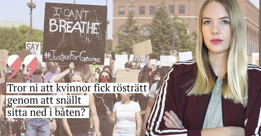 Nathalie Mark George Floyd Minneapolis