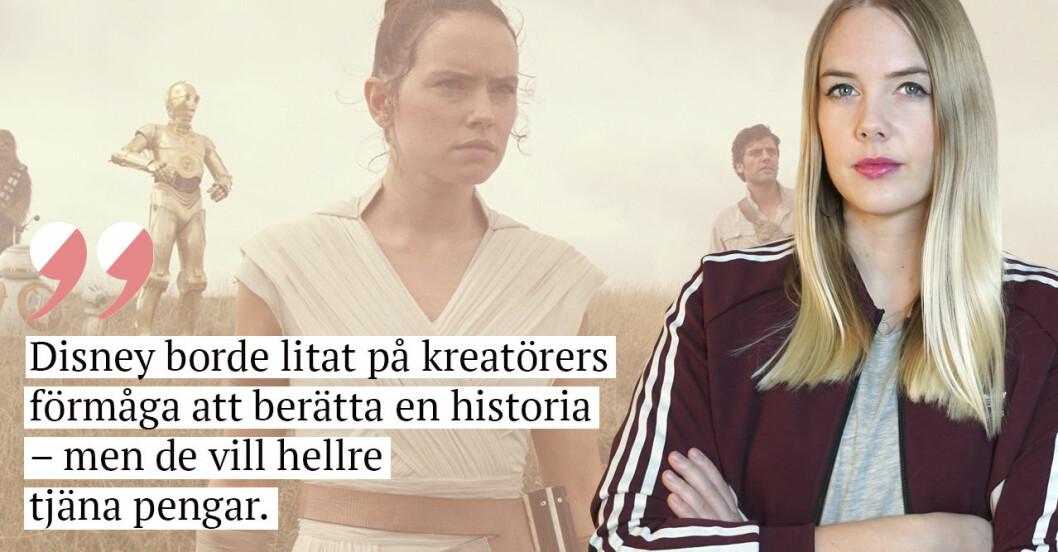 Nathalie Mark på Baaam har sett Star Wars The Rise of Skywalker