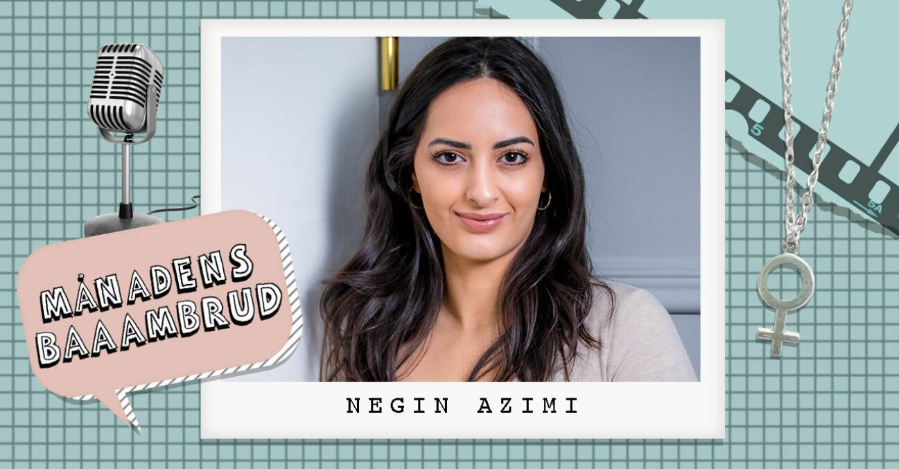 Entreprenören, föreläsaren och kommunikatören Negin Azimi.