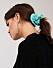 Blå scrunchie till våren 2019
