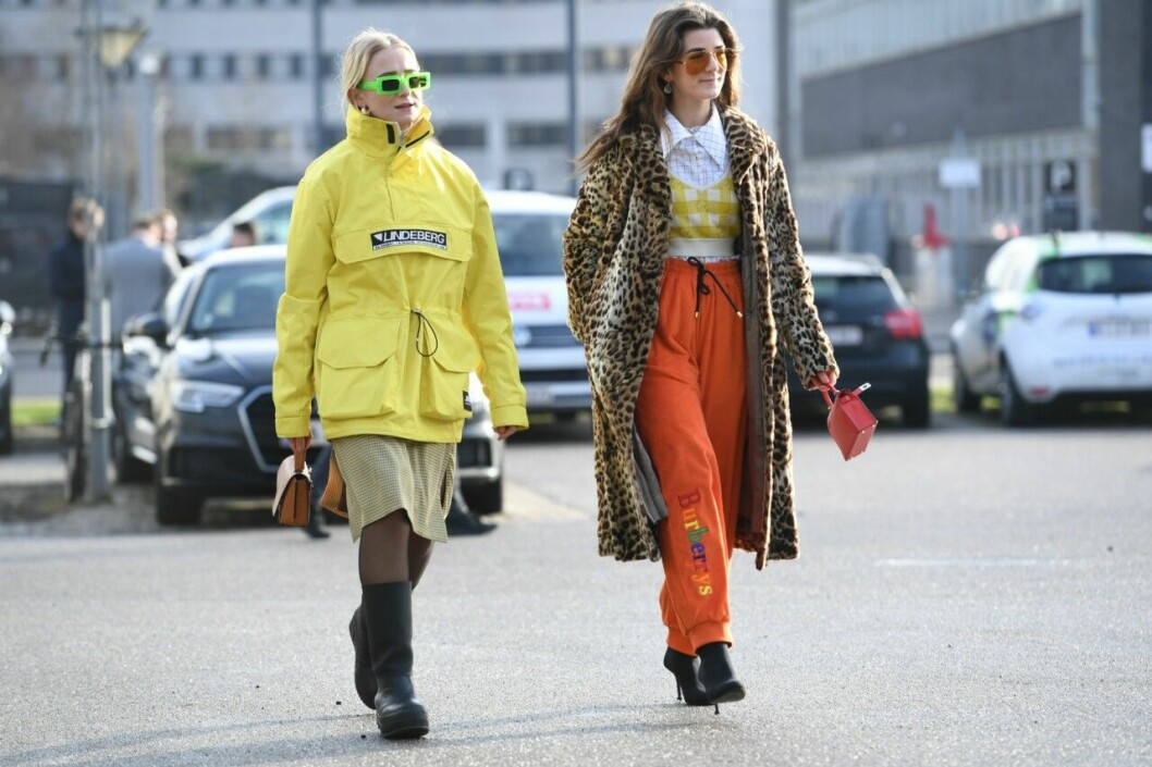 Neontrenden var stark under Köpenhamns modevecka.