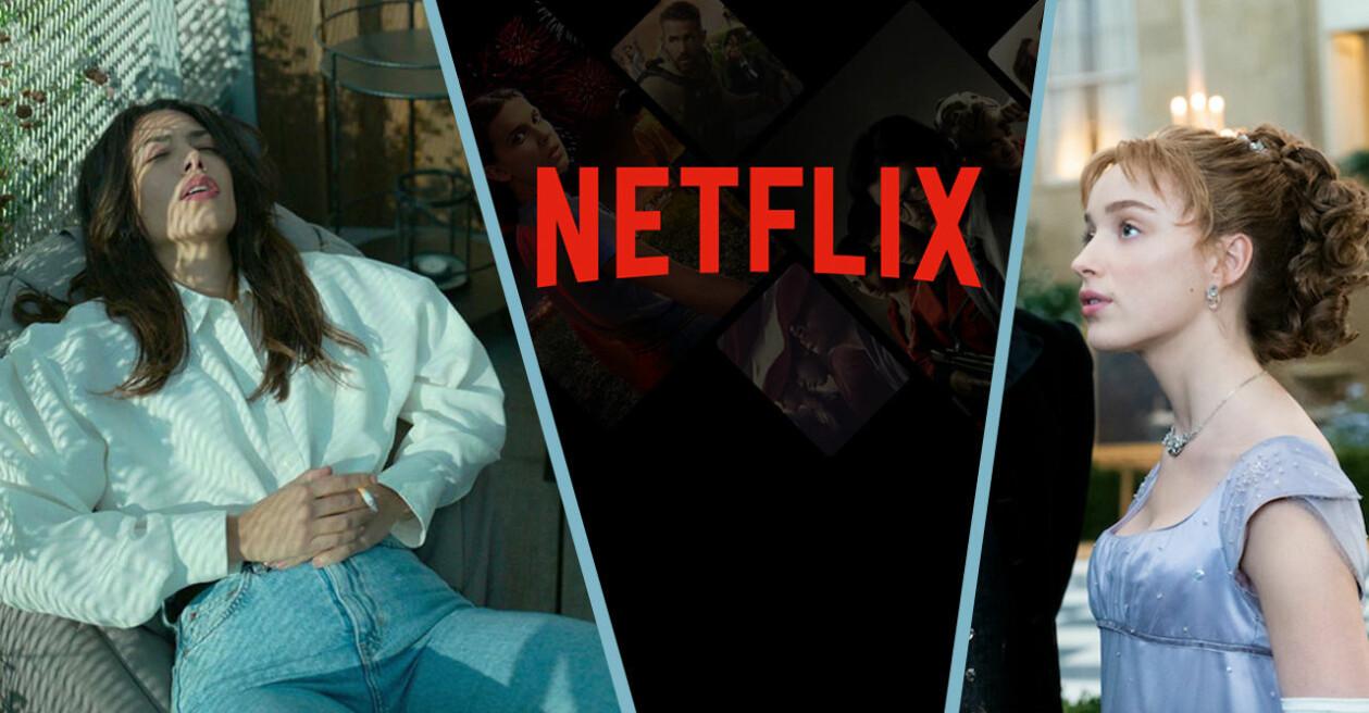 Snabba Cash, Netflix-logga och Bridgerton