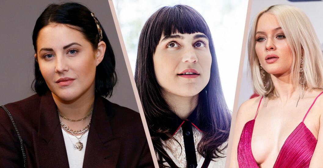 Molly Sandén, Laleh och Zara Larsson berättar om musikbranschen i boken Ni måste flytta på er.
