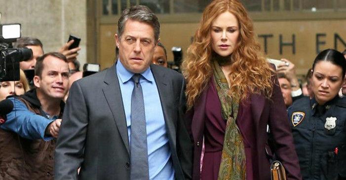 Nicole Kidman och Hugh Grant spelar huvudrollerna i The Undoing.