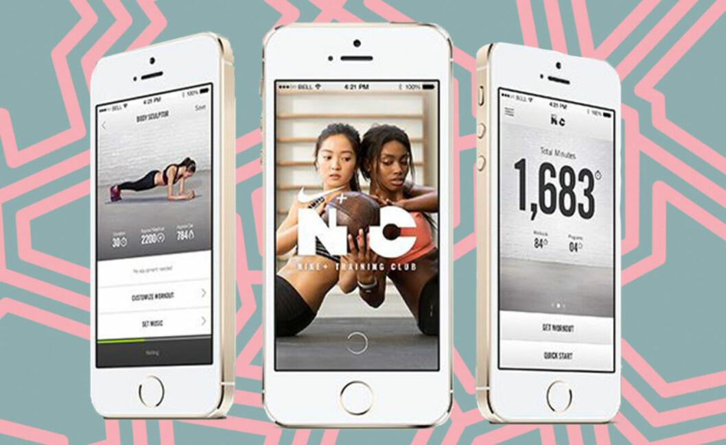 Nike Training App är bra för dig som vill hålla igång under resan.