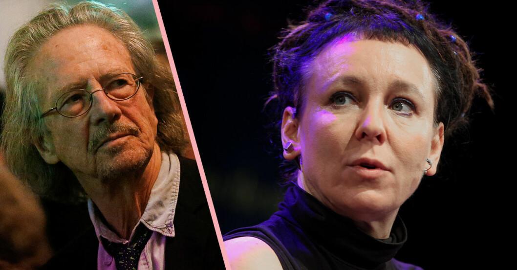 Peter Handke och Olga Tokarczuk fick Nobelpriset i litteratur 2018 och 2019.