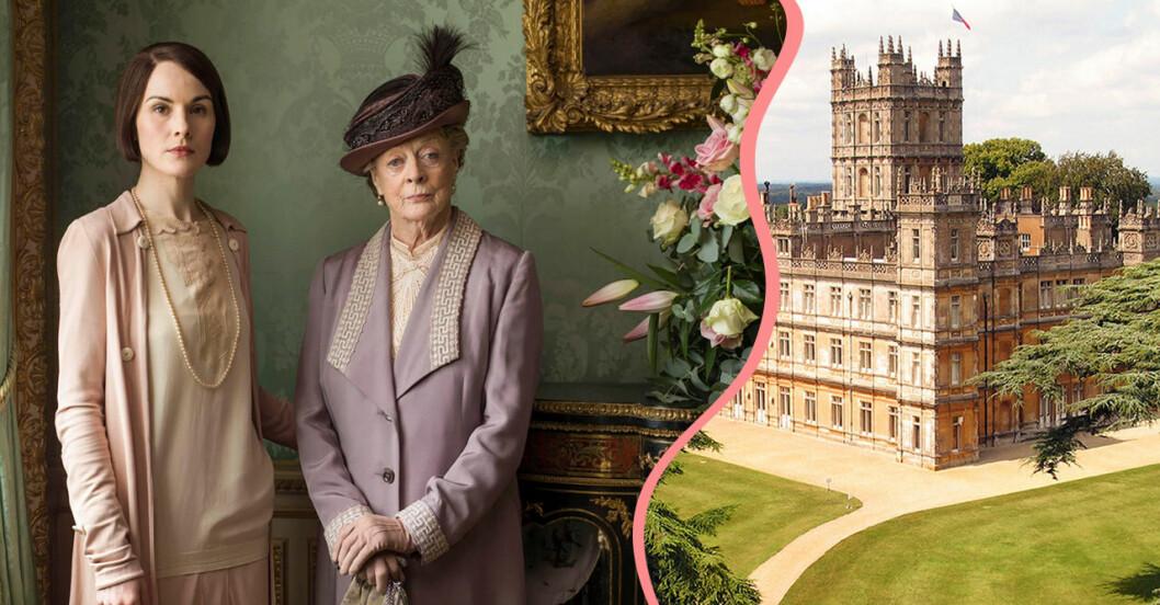 Nu kan du få bo en natt på riktiga Downton Abbey