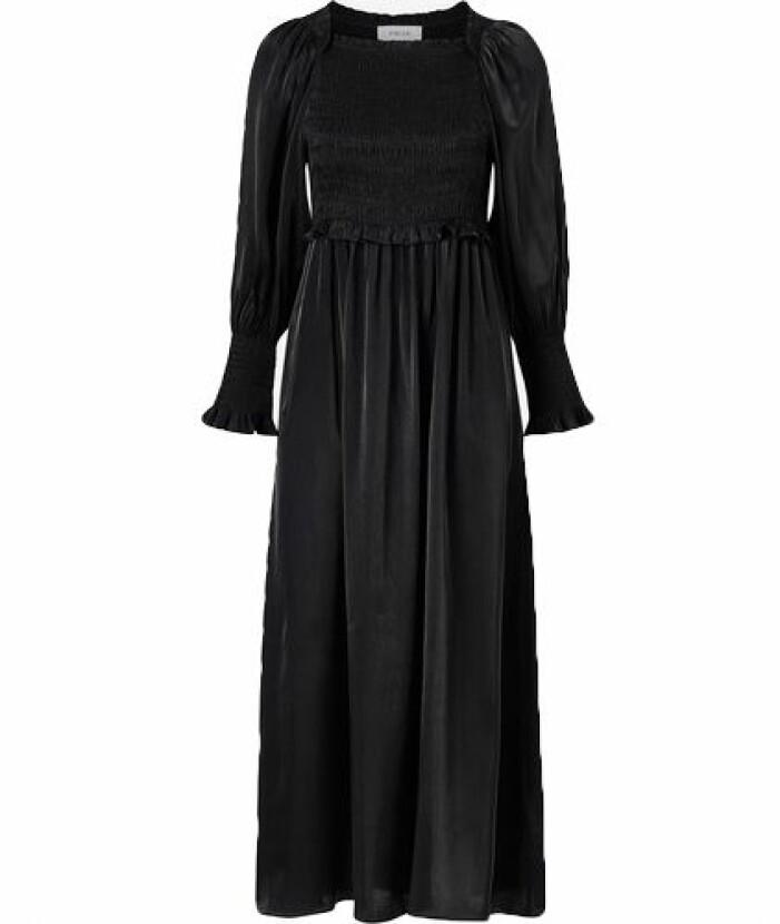 Svart långklänning balklänning