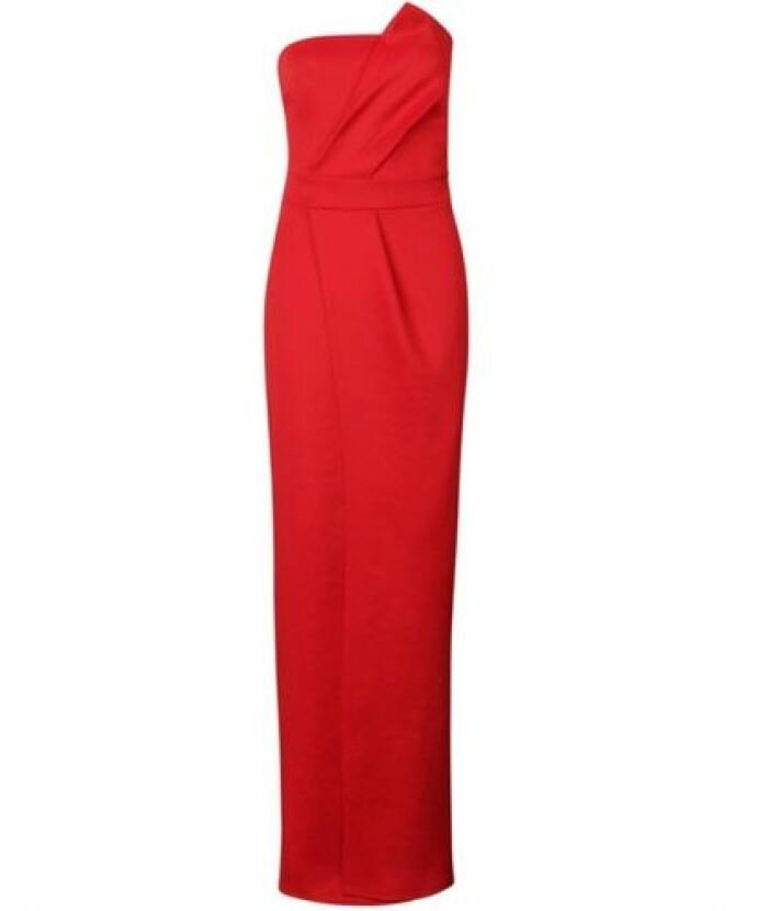 röd klänning till balen 2021
