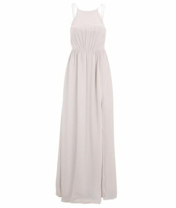 Beige långklänning till bal