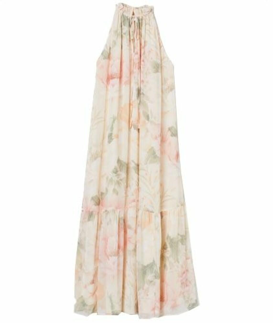 Långklänning balklänning blommig från H&M
