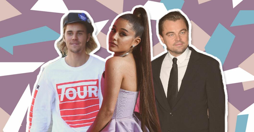 """Justin Bieber, Ariana Grande, Leonardo DiCaprio släpper låten """"Earth""""."""