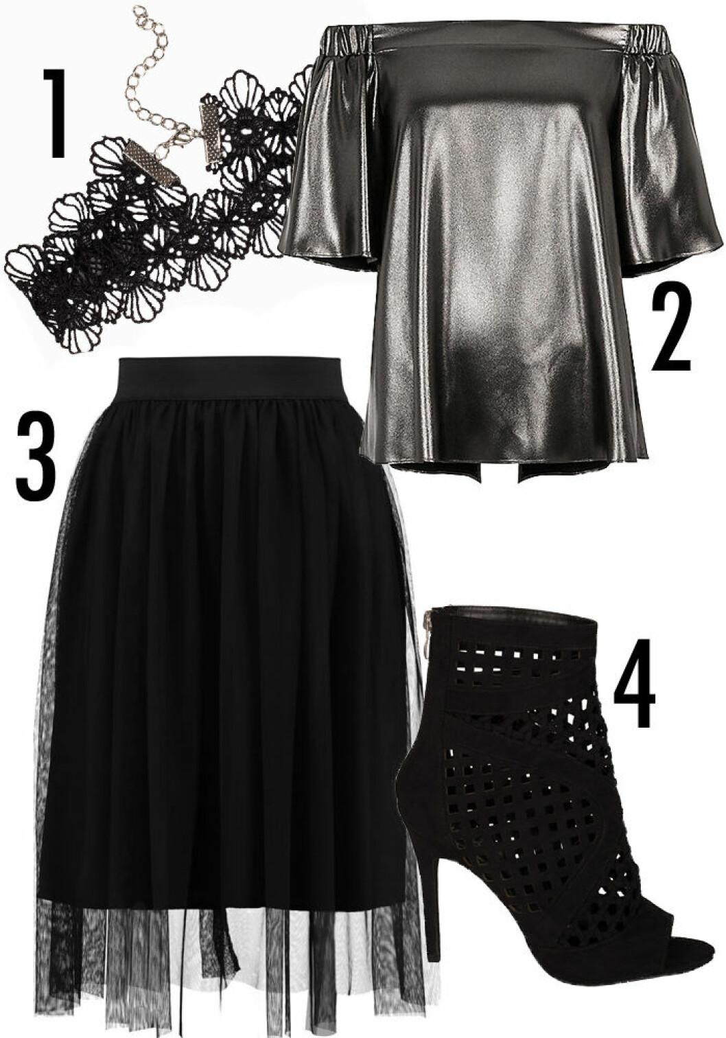 nyar outfit kjol