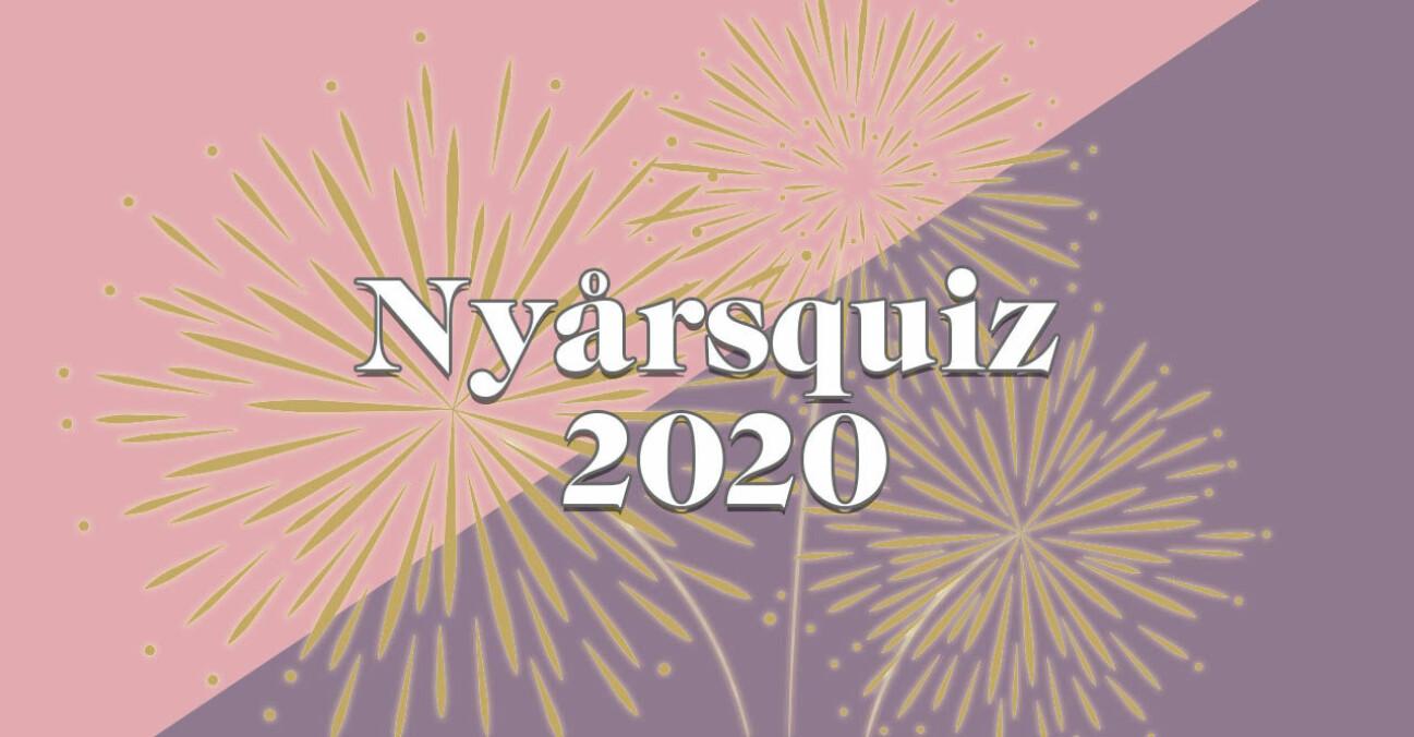 Nyårsquiz 2020 – med musikquiz