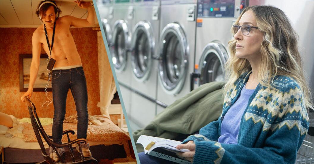 Gösta och Divorced är två nya serier på HBO i juli 2019.