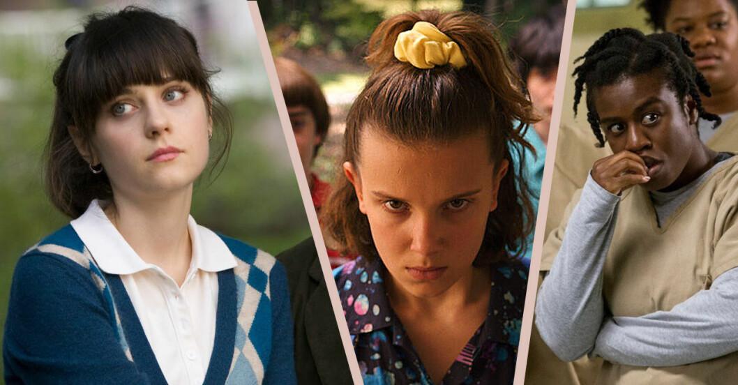 Orange is the new black, 500 days of summer och Stranger things är några av alla nya serier och filmer på Netflix i juli 2019.