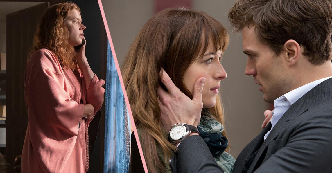 Kvinnan i fönstret och Fifty Shades of Grey på Netflix