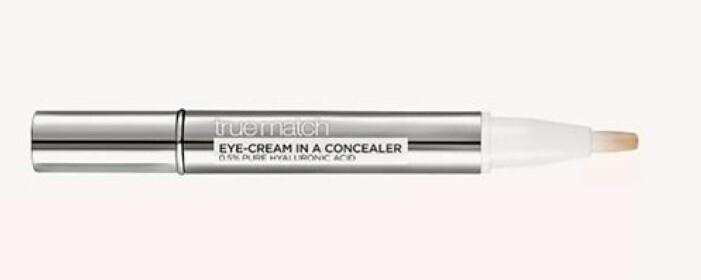 Ögoncrème + concealer. L´Orèals Eye-Cream in a Concealer vårdar, täcker och ljusar upp