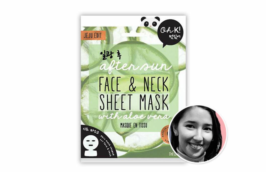 Ok! After sun sheet mask