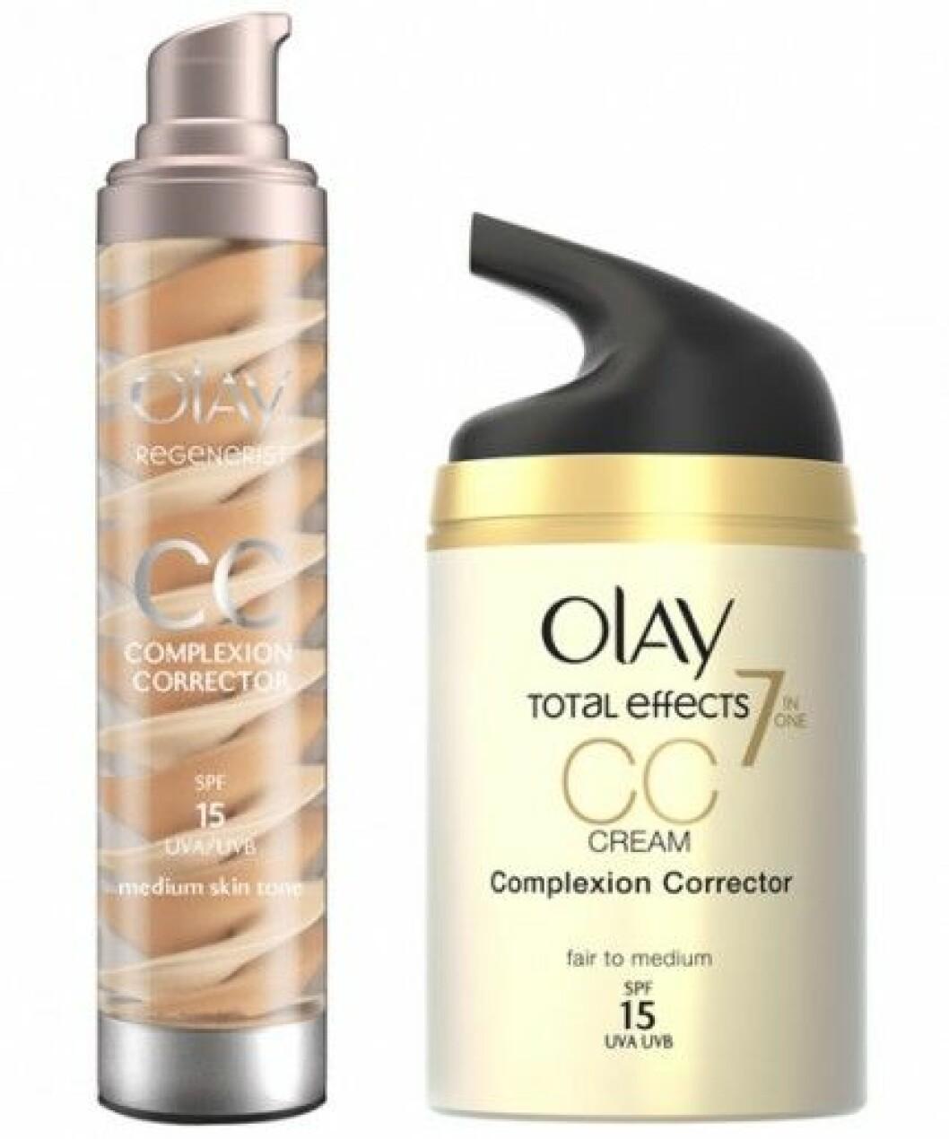 Olay lanserar två CC-creams våren 2014.