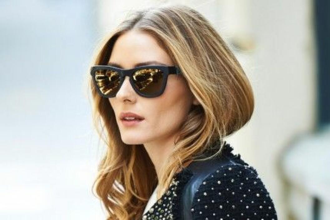 Olivia Palermo i solglasögon från Westward Leaning.