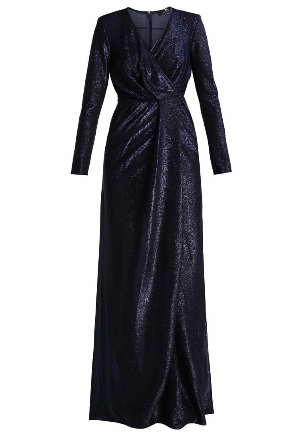 omlottklänning glitter