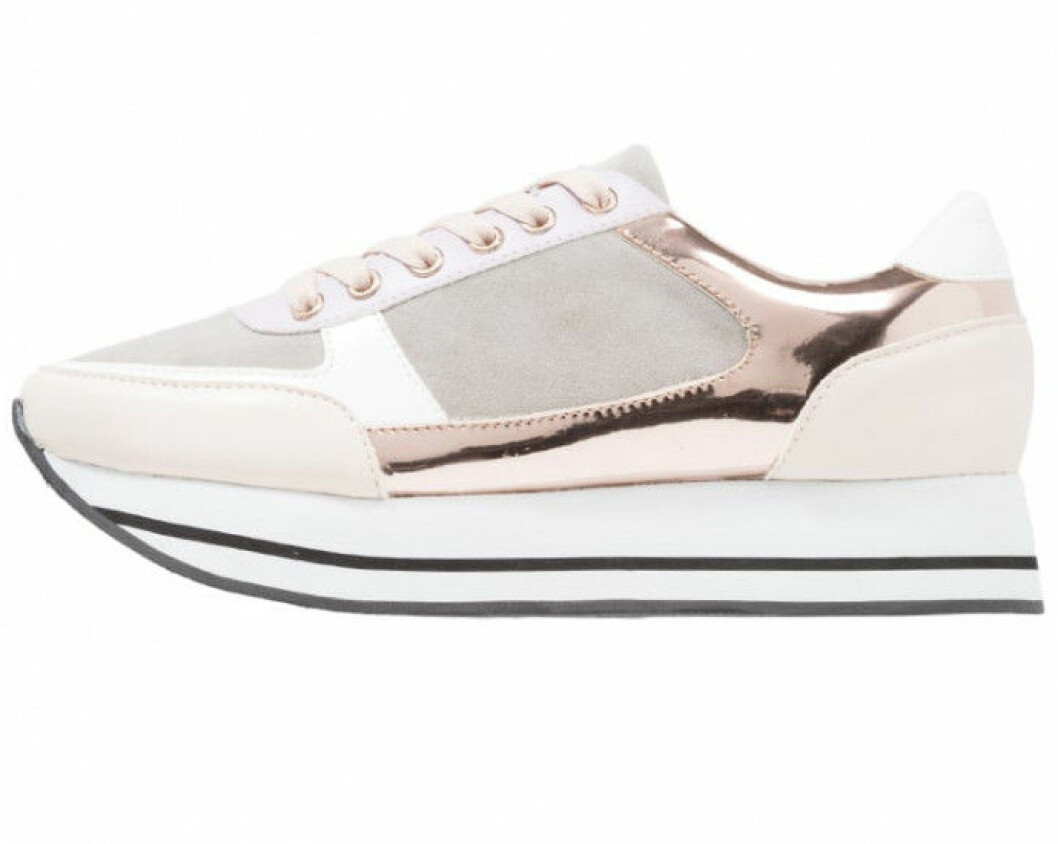Only-ljusrosa-sneakers